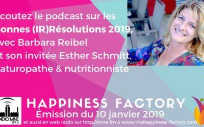 Bonnes Résolutions 2019: Jetez-les aux Orties !