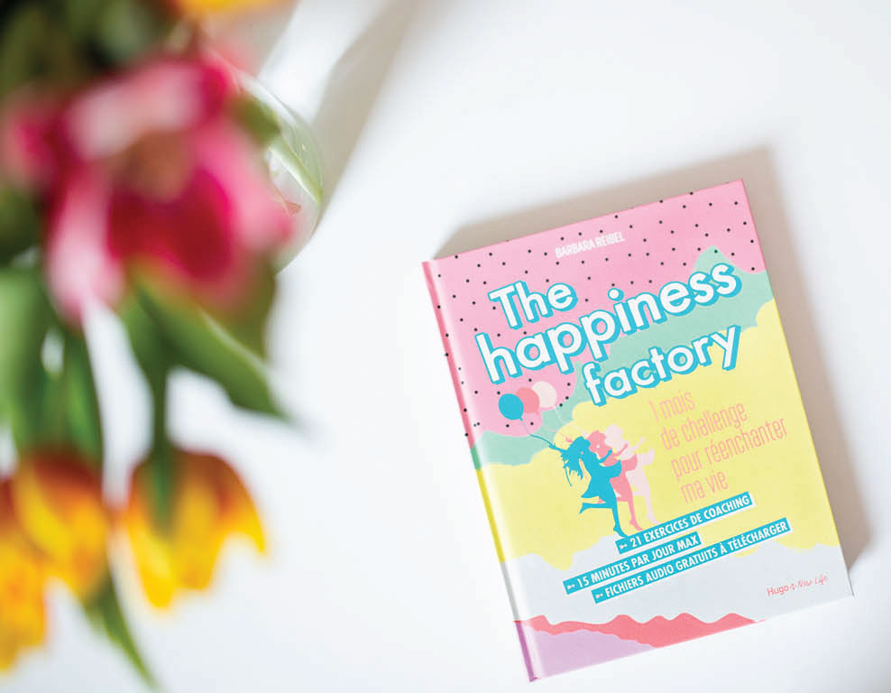 livre happiness factory