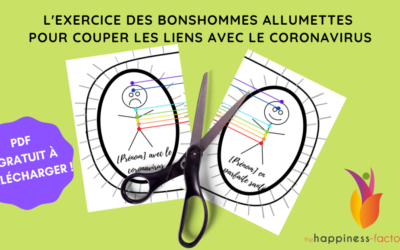 L'exercice des bonshommes allumettes pour couper les liens avec le coronavirus