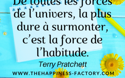 La force de l'habitude par Terry Pratchett