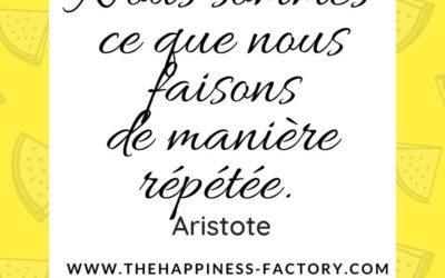 Habitudes et routines par Aristote