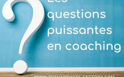 Les questions puissantes en coaching