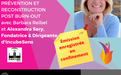 Prévention et reconstruction post burn-out avec Alexandra Sery