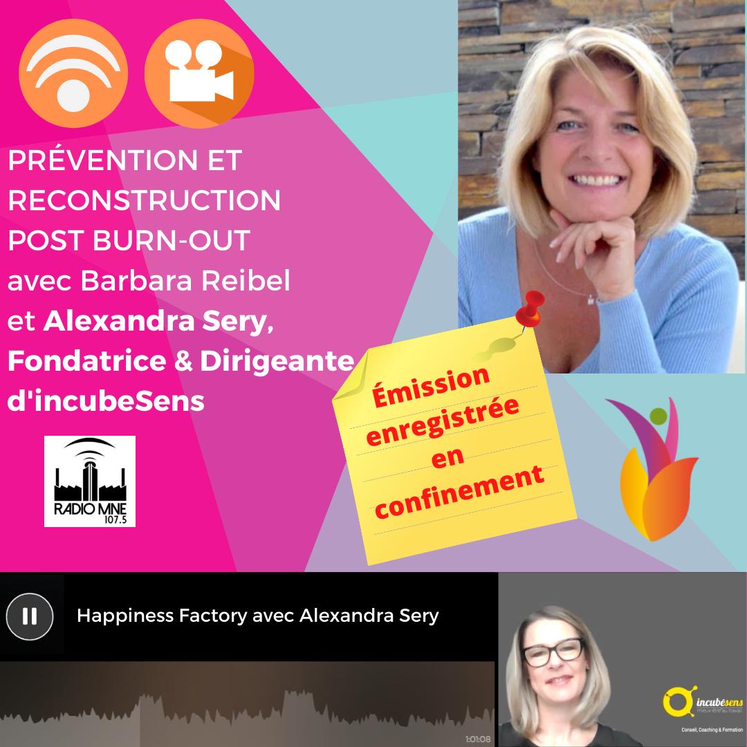 Prévention et reconstruction post burn-out avec Alexandra Sery